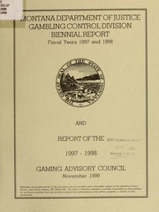 State of montana gambling control division mensa guide to casino gambling