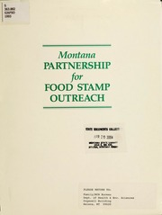 Montana partnership for food stamp outreach refsland gary a montana partnership for food stamp outreach refsland gary a free download streaming internet archive ccuart Images