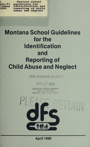 child abuse identification reporting coursework Child abuse identification & reporting workshop all applicants for certification are required to complete two clock hours of coursework or training regarding the identification and reporting of suspected child abuse and maltreatment in accordance with sections 3003(4) and 3004 of the education law this training is.
