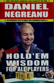 More Holdem Wisdom for all Players