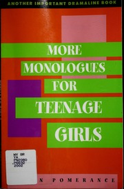 Males fun monologues for teenage girls womans orgasm sandra