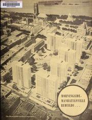 Morningside-Manhattanville ...