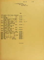 Mortimer Hammel Invoices from B.G. Johnson, January 20, 1940, to October 29, 1940