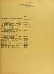 Mortimer Hammel Invoices from B.G. Johnson, January 20, 1940, to October 29, 1940