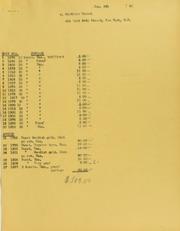 Mortimer Hammel Invoices from B.G. Johnson, January 6, 1942, to November 16, 1942