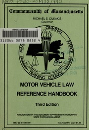 Motor Vehicle Homicide The Offense And The Offenders