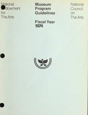 Museums, 1974