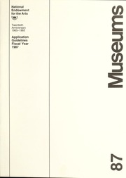 Museums, 1987