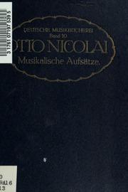 Musikalische Aufsätze