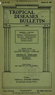 Tropical diseases bulletin, 18 n.2