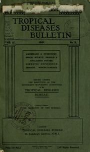Tropical diseases bulletin, 17 n.3