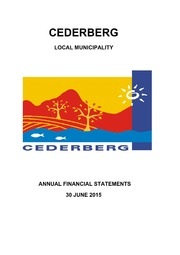 WC012 Cederberg AFS 2014-15 audited