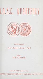 The N.A.S.C. Quarterly