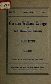 Vol 1912-13: Nast Theologisches Seminar