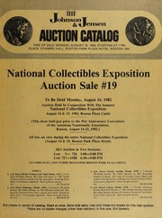 National Collectibles Exposition Auction Sale #19