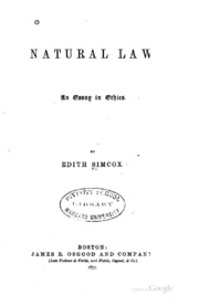 essays about natural law