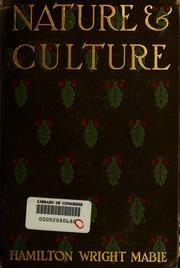 hamiliton wright mabie essays on nature and culture Essays on nature and culture by hamilton wright mabie kessinger publishing, llc, 2007-01-17 paperback used:good.
