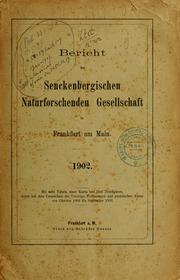 Natur und Museum, 1902