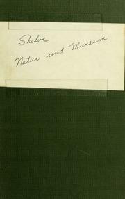 Natur und Museum, 1904