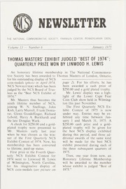 The National Commemorative Society Newsletter: 1975