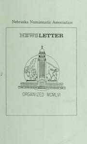 Nebraska Numismatic Association Newsletter: January 1989