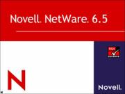 Novell Netware 6.5 Installation Media