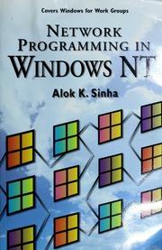 Network programming in Windows NT : Sinha, Alok K : Free Download