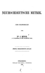 Neuhochdeutsche Metrik