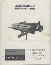 Gerard arthus holland machine company manual collection free newholland479haybinemowerassemblymanuala4799m872w fandeluxe Choice Image