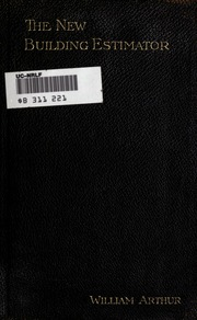 Estimating the cost of buildings a systematic treatise on for Material cost to build a house calculator
