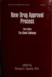 New drug approval process [electronic resource] : the global