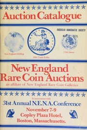 New England numismatic association ... [11/07-08/1975]