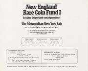 New England Rare Coin Fund I