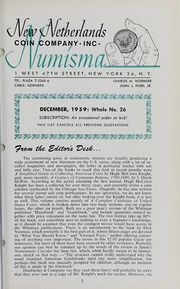 The New Netherlands Numisma: 14th Mail Bid Sale