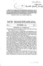 essays of shakespeare