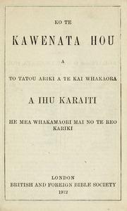 Nga Himene Mo Nga Hunga Tapu (1917-a)