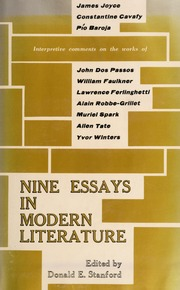 Existentialism and modern literature an essay in existential borrow sciox Image collections