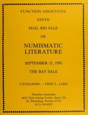 Ninth Mail Bid Sale of Numismatic Literature
