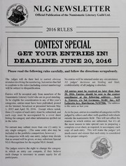 NLG Newsletter: Contest Special