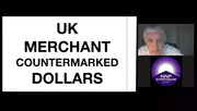 UK Merchant Countermarked Dollars