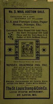 No. 3, mail auction sale. [12/29/1902]