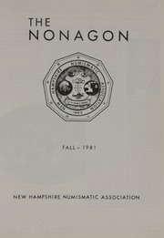 The Nonagon, vol. 19, no. 1