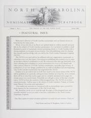 North Carolina Numismatic Scrapbook: Vol. 1 No. 1
