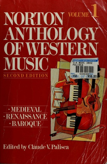 Norton recorded anthology of western music free. download full