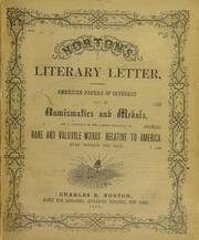Norton's Literary Letter [no. 3]