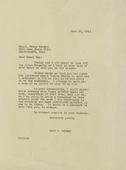 Norweb Family Correspondence, 1963-1995