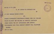 Henry Norweb & Emery May Norweb Correspondence, 1953-1962