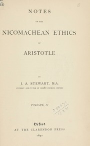 an introduction to the literary analysis of nicomachean ethics Aristotle on practical wisdom is the first full-scale commentary on nicomachean ethics vi to be issued in a century, and the most illuminating ever a meticulous translation with facing-page.