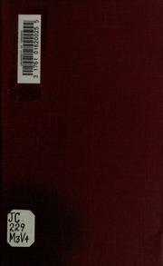 Notes sur Joseph de Maistre, inconnu