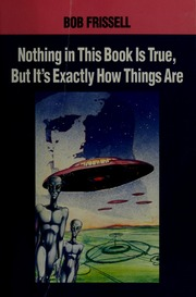 Bob Frissell Nothing In This Book Is True Pdf